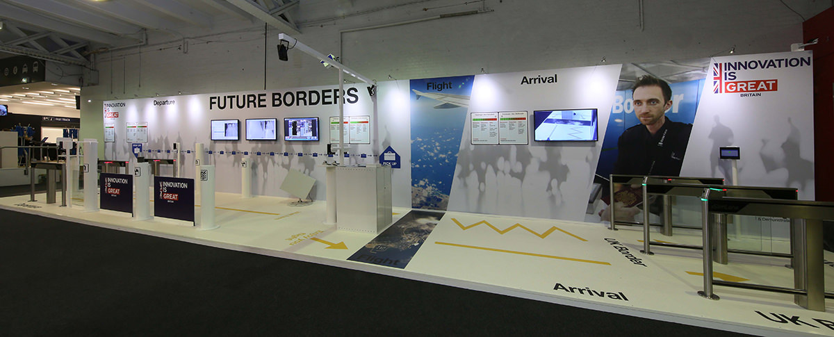 Future Borders Experience TRS London 2015
